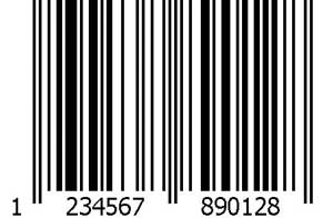 barcode for greeting cards