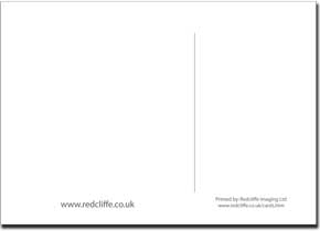 Custom Printed Postcards From Finished Artwork - 148mm x 105mm