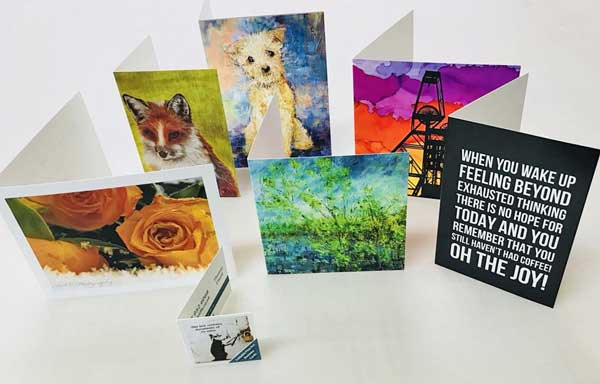 folded greeting card