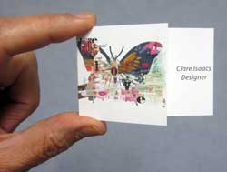Greeting card printing service high quality greeting cards folded business card reheart Gallery